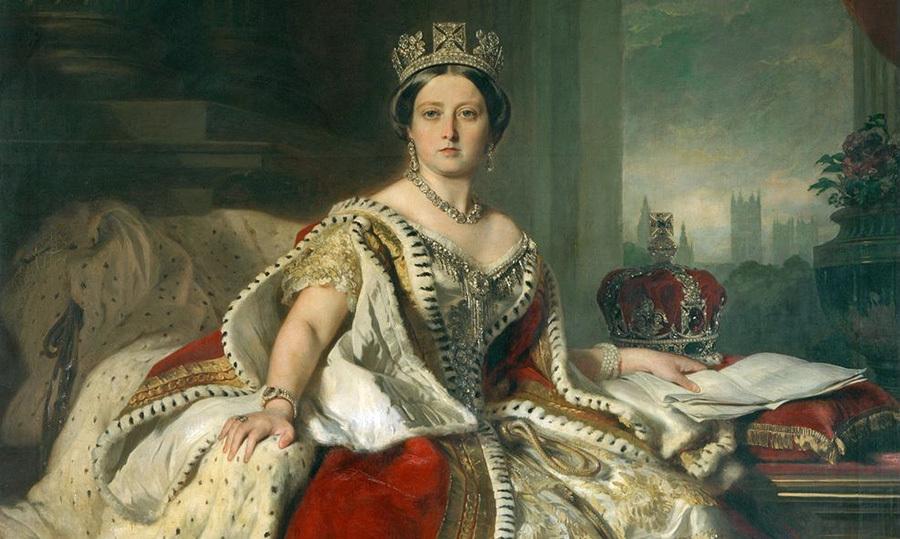 Young Queen Victoria